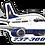Thumbnail: Adesivo Silhueta Boeing 737-300 VARIG 2ª Pintura