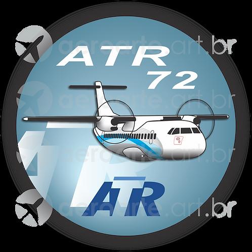 Adesivo Bolacha ATR 72