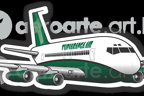 Adesivo Silhueta Boeing 707 TUPIARANGA IAR