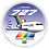 Thumbnail: Adesivo Bolacha Boeing 727 Transbrasil Azul