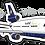 Thumbnail: Adesivo Silhueta McDonnell Douglas MD-11 VARIG 2ª Pintura