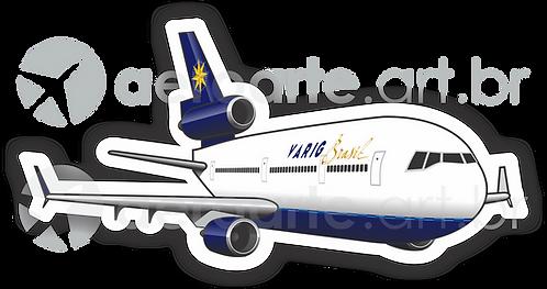 Adesivo Silhueta McDonnell Douglas MD-11 VARIG 2ª Pintura