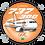Thumbnail: Adesivo Bolacha Boeing 737-300 GOL