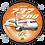 Thumbnail: Adesivo Bolacha Boeing 737-700 GOL 1ª Pintura