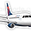 Thumbnail: Adesivo Silhueta Embraer 175 Delta Connection