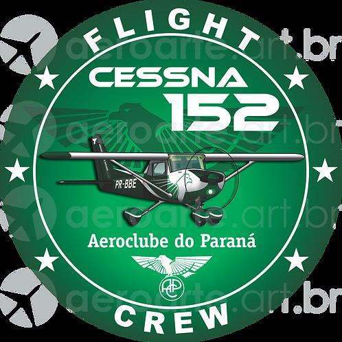 Adesivo Bolacha Cessna 152 Aeroclube do Paraná (promoção)