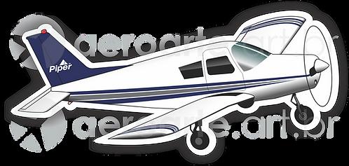 Adesivo Silhueta Piper Cherokee 140