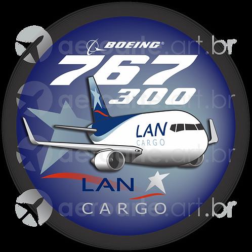 Adesivo Bolacha Boeing 767-300F LAN Cargo