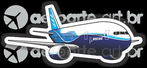 Adesivo Silhueta Boeing 777-300ER