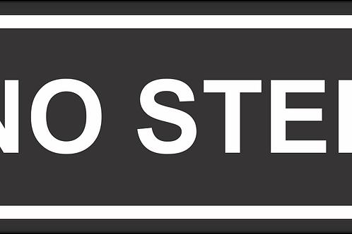 Adesivo NO STEP