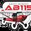 Thumbnail: Adesivo Silhueta Aero Boero AB-115