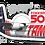 Thumbnail: Adesivo Silhueta Fokker 50 TAM