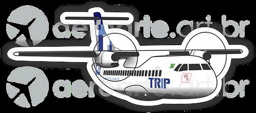 Adesivo Silhueta ATR 72 TRIP