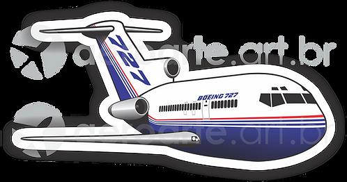 Adesivo Silhueta Boeing 727