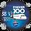 Thumbnail: Adesivo Bolacha Fokker 100