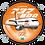 Thumbnail: Adesivo Bolacha Boeing 737-800 GOL 1ª Pintura