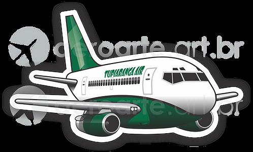 Adesivo Silhueta Boeing 737-200 TUPIARANGA IAR