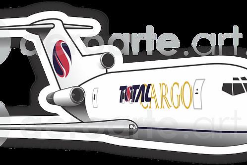 Adesivo Silhueta Boeing 727-200F TOTAL