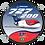 Thumbnail: Adesivo Bolacha Boeing 727-200F TAF