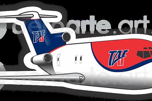 Adesivo Silhueta Boeing 727-200F TAF