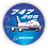 Thumbnail: Adesivo Bolacha Boeing 747-200