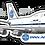 Thumbnail: Adesivo Silhueta Boeing 747-100 PanAm