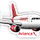 Thumbnail: Adesivo Silhueta Airbus A320 CFM Avianca Brasil new colors