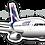 Thumbnail: Adesivo Silhueta Airbus A319 IAE LATAM