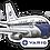 Thumbnail: Adesivo Silhueta Boeing 737-200 VARIG