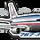 Thumbnail: Adesivo Silhueta Boeing 767-300 American Airlines