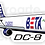Thumbnail: Adesivo Silhueta Douglas DC-8F BETA