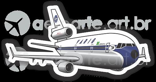 Adesivo Silhueta McDonnell Douglas MD-11 VARIG