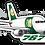 Thumbnail: Adesivo Silhueta Boeing 767F RIO