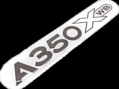 Adesivo Resinado Airbus A350