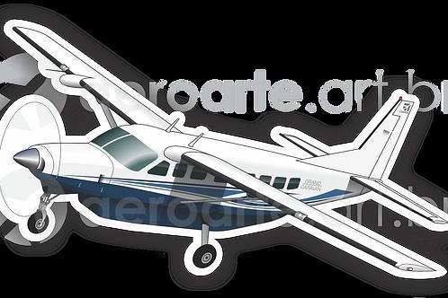 Adesivo Silhueta Cessna C208B Grand Caravan