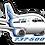 Thumbnail: Adesivo Silhueta Boeing 737-500 Rio Sul