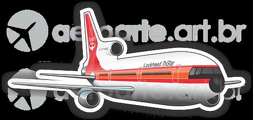 Adesivo Silhueta Lockheed L-1011 TriStar