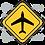 Thumbnail: Adesivo Placa Avião