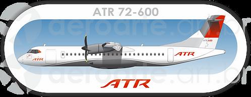 Adesivo Perfil ATR 72