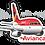 Thumbnail: Adesivo Silhueta Airbus A318 Avianca Brasil