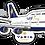 Thumbnail: Adesivo Silhueta Boeing 747-300 VARIG New Colors
