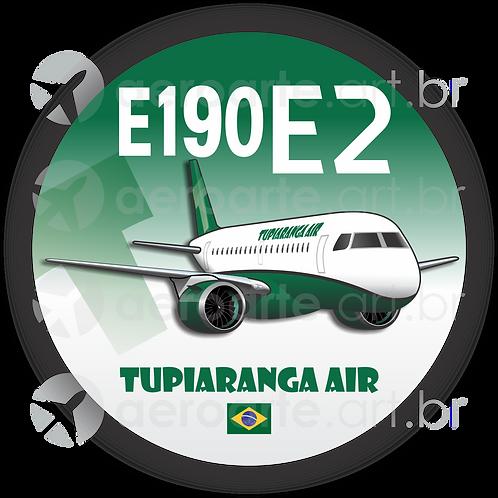 Adesivo Bolacha E190 E2 TUPIARANGA AIR