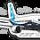 Thumbnail: Adesivo Silhueta Boeing 737MAX 8