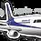 Thumbnail: Adesivo Silhueta Embraer 195
