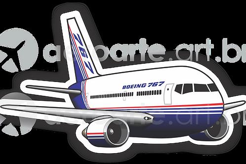 Adesivo Silhueta Boeing 767