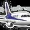 Thumbnail: Adesivo Silhueta Embraer 175