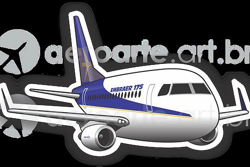 Adesivo Silhueta Embraer 175