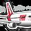 Thumbnail: Adesivo Silhueta Boeing 767-300 TAM
