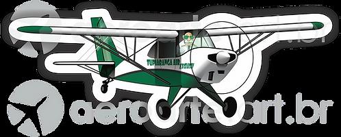 Adesivo Silhueta Aero Boero AB-115 TUPIARANGA AIR EXCLUSIV