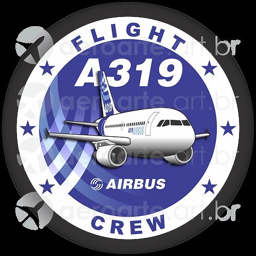 Adesivo Bolacha Airbus A319 (promoção)